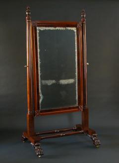 A Classical Cheval Mirror - 423005