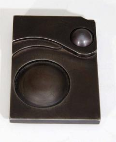A Contemporary Art Deco Style Steel Paperweight - 271200