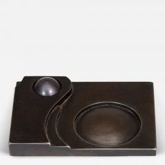 A Contemporary Art Deco Style Steel Paperweight - 272308