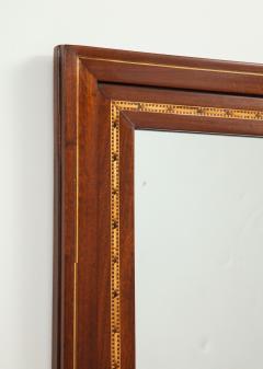 A Danish Fruitwood Inlaid Mahogany Mirror Circa 1910  - 759532