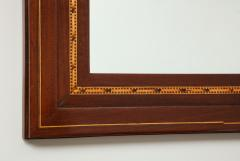 A Danish Fruitwood Inlaid Mahogany Mirror Circa 1910  - 759534