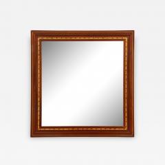 A Danish Fruitwood Inlaid Mahogany Mirror Circa 1910  - 761738