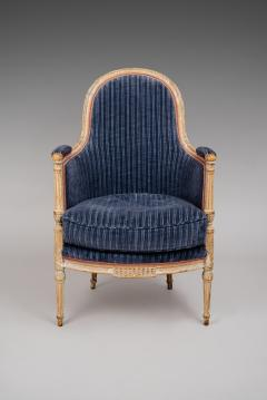 A Directoire Painted and Carved Bergere - 120139