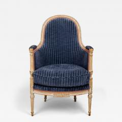 A Directoire Painted and Carved Bergere - 123714