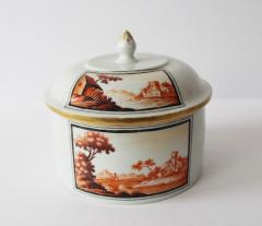 A Fine 18th Century Hand Painted Thuringian Box and Cover - 354308