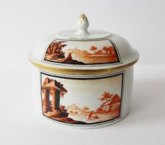 A Fine 18th Century Hand Painted Thuringian Box and Cover - 354309