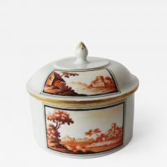 A Fine 18th Century Hand Painted Thuringian Box and Cover - 386324