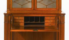 A Fine Edwardian Satinwood Secretaire Bookcase - 1023199