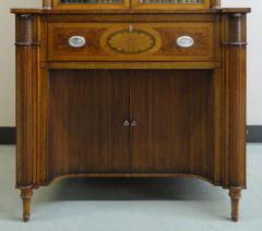 A Fine Edwardian Satinwood Secretaire Bookcase - 1023200