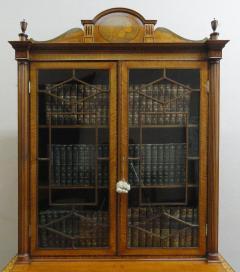 A Fine Edwardian Satinwood Secretaire Bookcase - 1023201