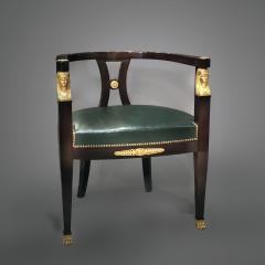 A Fine Empire Style Mahogany Desk Chair - 794685