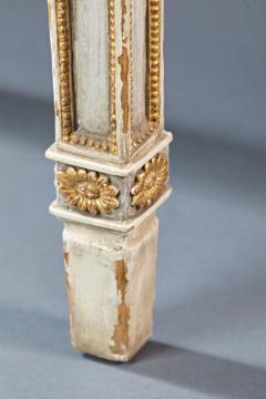 A Fine English Adam Period Demi Lune Console Table - 296702
