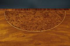 A Fine English Adam Period Demi Lune Console Table - 296705