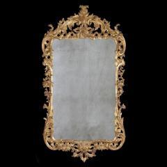 A Fine George II Carved Gilt Wood Mirror - 2118604