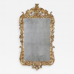 A Fine George II Carved Gilt Wood Mirror - 2120333