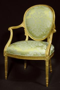 A Fine George III Giltwood Armchair - 1073512