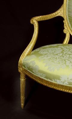 A Fine George III Giltwood Armchair - 1073513