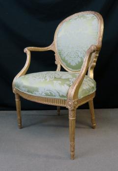 A Fine George III Giltwood Armchair - 1073514