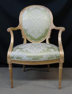 A Fine George III Giltwood Armchair - 1073517
