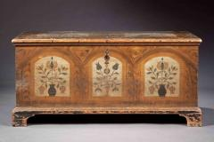 A Fine Painted Dower Chest - 134681