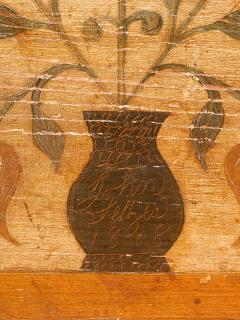 A Fine Painted Dower Chest - 134684