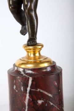 A Fine Pair of 18th Century Bronze and Gilt Bronze Candelabra - 632824