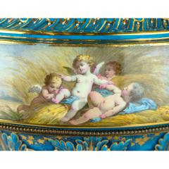 A Fine Quality Large S vres Style Porcelain and Gilt Bronze Centerpiece - 1435112