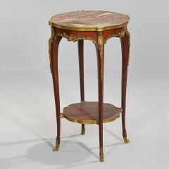 A Fine Quality Pair of Louis XVI style Marble top Side Table - 1566940