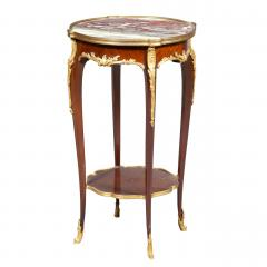 A Fine Quality Pair of Louis XVI style Marble top Side Table - 1566944