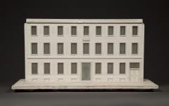 A Fine Stucco Art Deco Period Architectural Model - 1131436