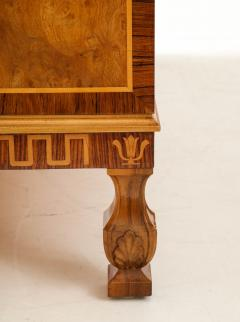 A Fine Swedish Grace Elmroot Inlaid and Cross banded Commode Circa 1920s - 1690083