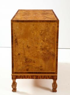 A Fine Swedish Grace Elmroot Inlaid and Cross banded Commode Circa 1920s - 1690087