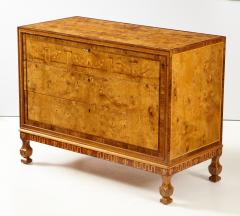 A Fine Swedish Grace Elmroot Inlaid and Cross banded Commode Circa 1920s - 1690093