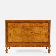 A Fine Swedish Grace Elmroot Inlaid and Cross banded Commode Circa 1920s - 1692990