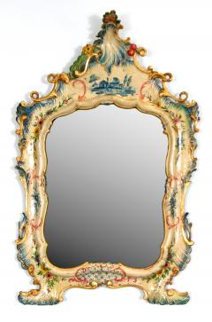 A Fine Venetian Lacquered Toilette or Dressing Table Mirror - 117037