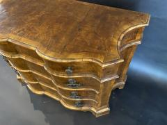 A Fine Venetian Olivewood Bronze Mounted 4 Drawer Commode Italy Mid 18th C  - 1357100