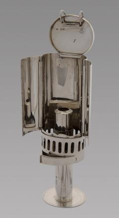 A Fine and Rare Silver Travel Lamp London 1862 - 993838