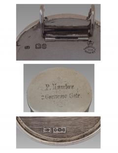 A Fine and Rare Silver Travel Lamp London 1862 - 993840