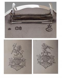 A Fine and Rare Silver Travel Lamp London 1864 - 993848