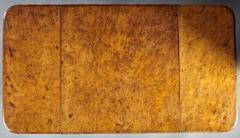 A Fine and Unusual Burl Elm Georgian Pembroke Table - 588722