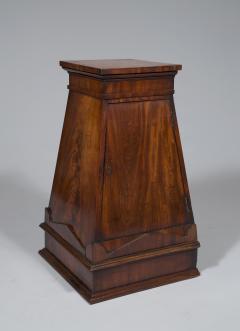 A Finely Figured Mahogany Obelisk Form Pedestal In The Manner Of Sir John Soane - 720491