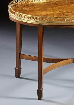 A Finely Inlaid Low Tray Table - 588676