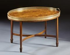 A Finely Inlaid Low Tray Table - 588677