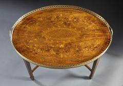 A Finely Inlaid Low Tray Table - 588680
