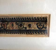 A Framed Antique Coptic Textile - 637347