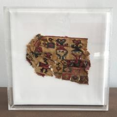 A Framed Pre Columbian Antique Textile - 599937