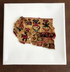 A Framed Pre Columbian Antique Textile - 599938
