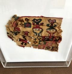 A Framed Pre Columbian Antique Textile - 599939