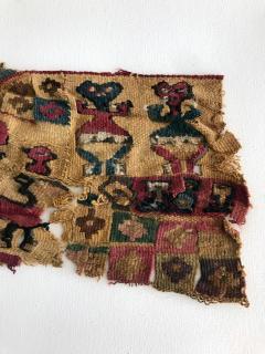 A Framed Pre Columbian Antique Textile - 599941