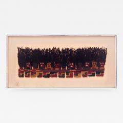 A Framed Pre Columbian Textile - 585150
